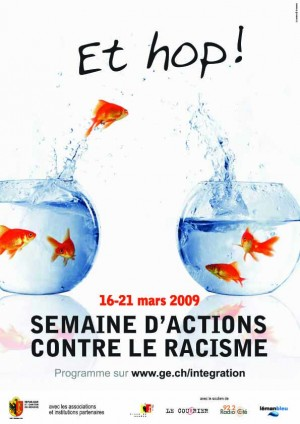 Affiche Semaine d'Actions contre le Racisme